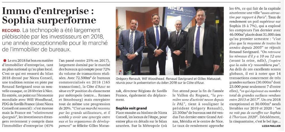 La Tribune du 1er Mars 2019